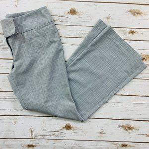 Express Women's Pants Editor Gray Flat Front 10